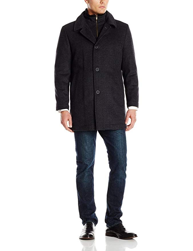Hart Schaffner Marx Men's Mcquade Wool Coat Review   Mens ...