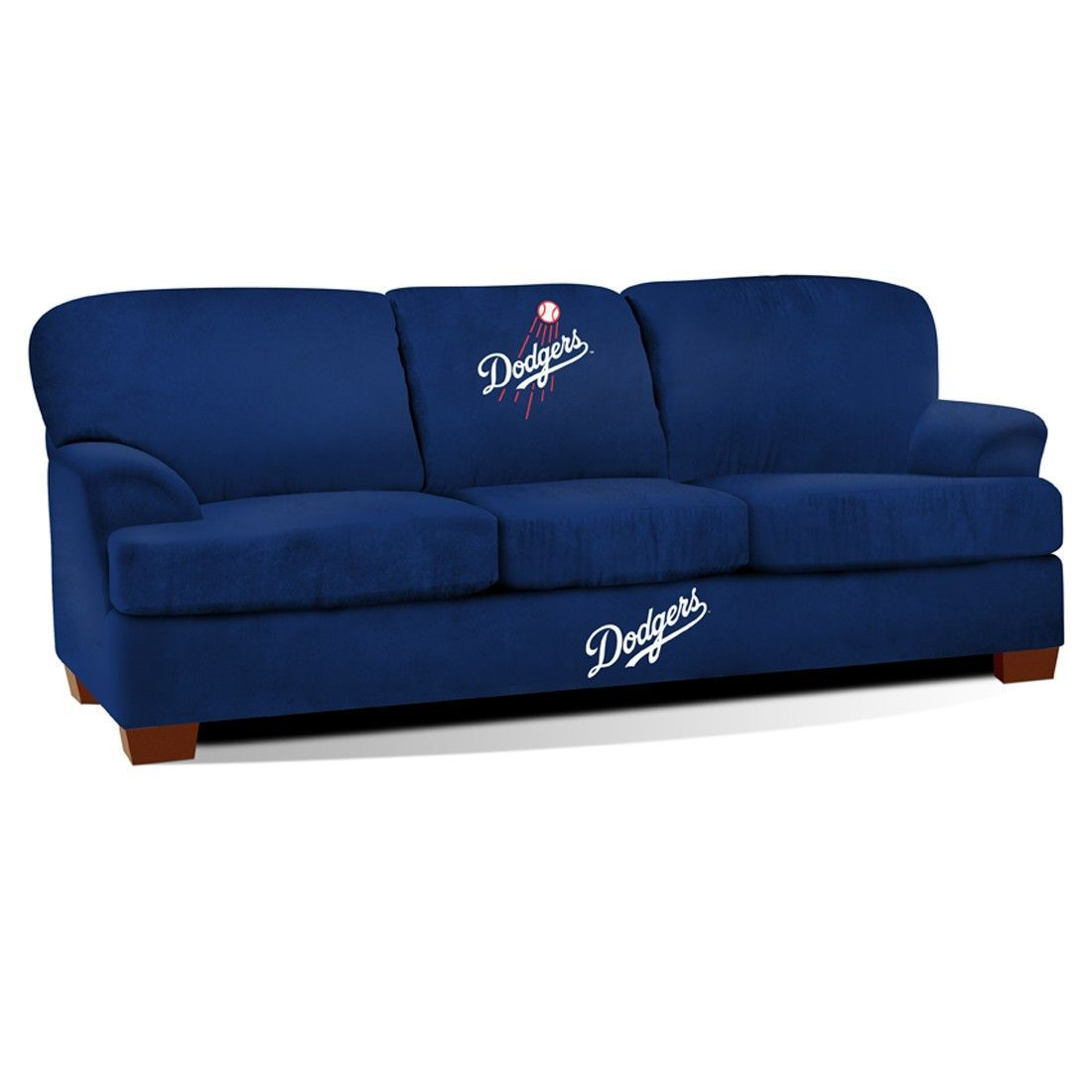 Sofas For Sale First Team Microfiber Sofa Los Angeles Dodgers Fan Cave Couch