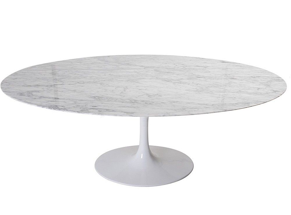 Dining Table Oval By Eero Saarinen