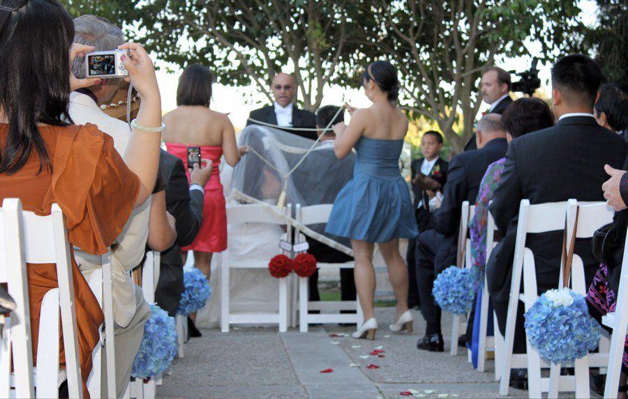 Veil, Cord, Coin Ceremony Livermore, CA Catholic wedding