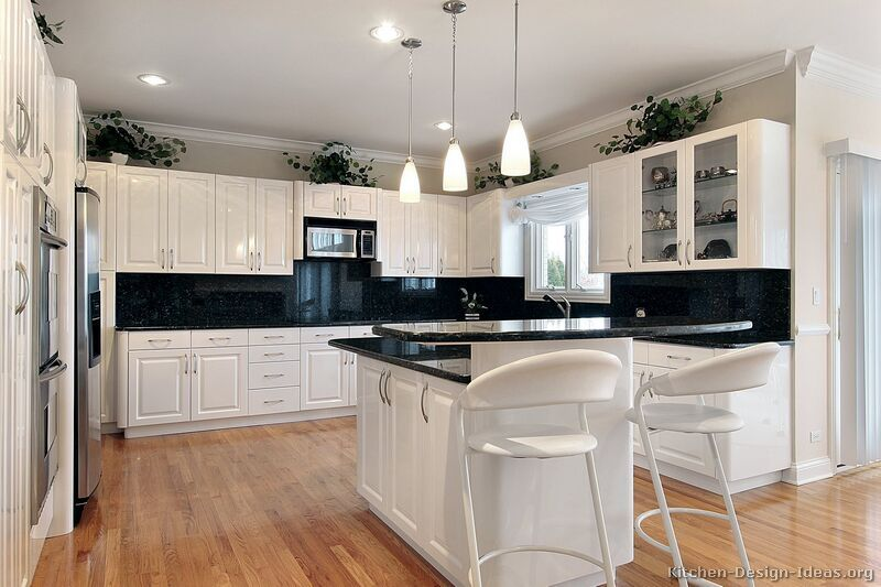 Milton  Kitchen  Pinterest  Galley Kitchens Modern Living And Entrancing Traditional White Kitchen Cabinets Review
