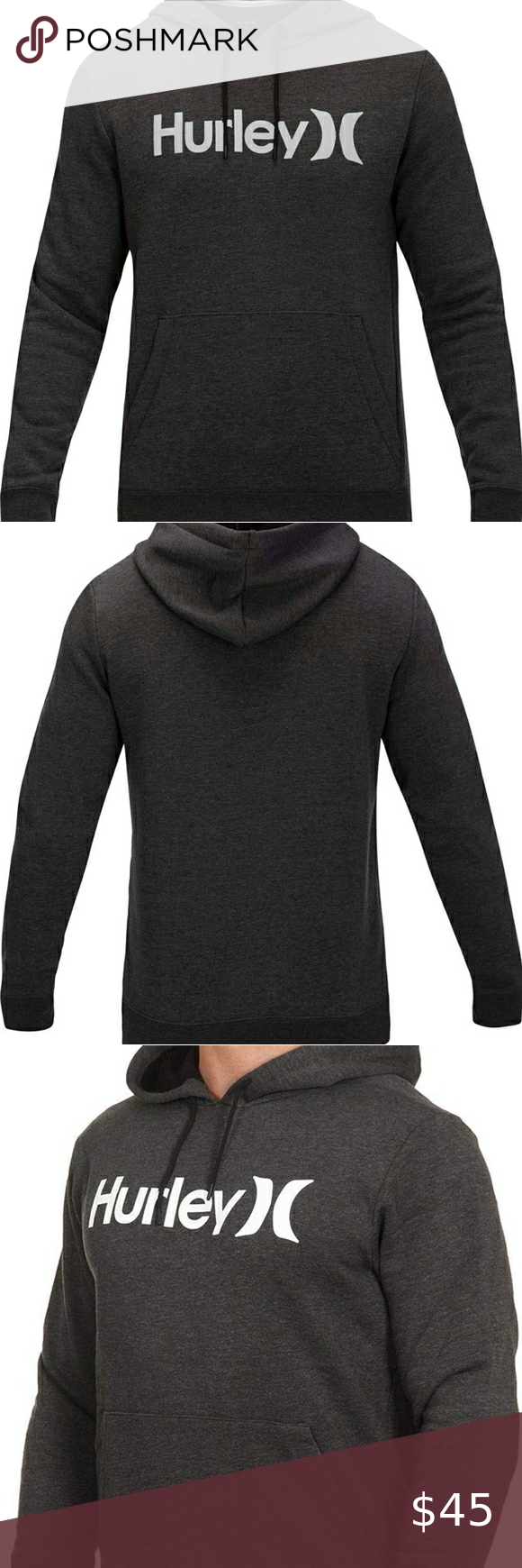 Hurley Mens Surf Check One And Only Hoodie Hurley Mens Hurley Shirt Sweatshirt Shirt [ 1740 x 580 Pixel ]