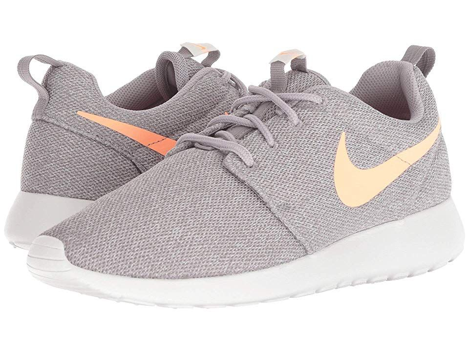 hot sale online cde12 1dc31 Nike Roshe One Women's Shoes Atmosphere Grey/Orange Pulse in ...
