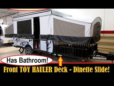 2017 Coachmen Clipper V Trec V3 Toy Hauler Pop Up Tent Camper