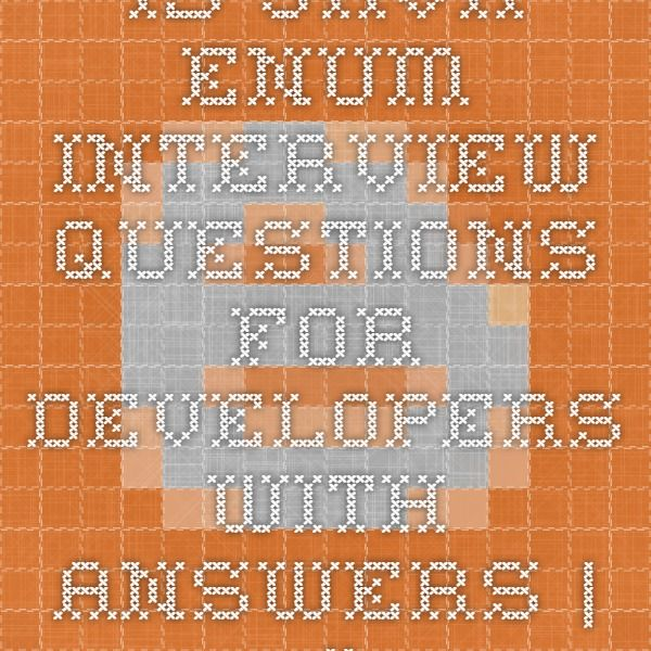 15 Java Enum Interview Questions For Developers With Answers