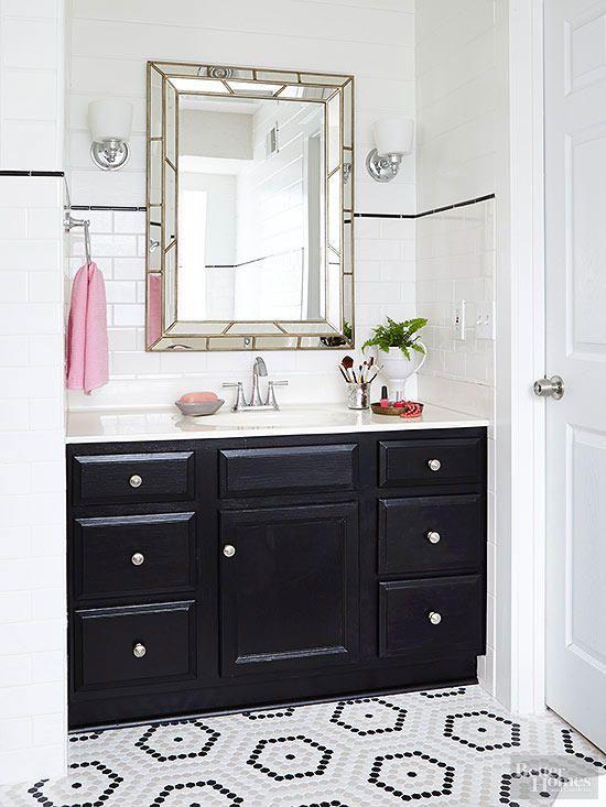 Basement Flooring Ideas   Cheap bathroom flooring ...
