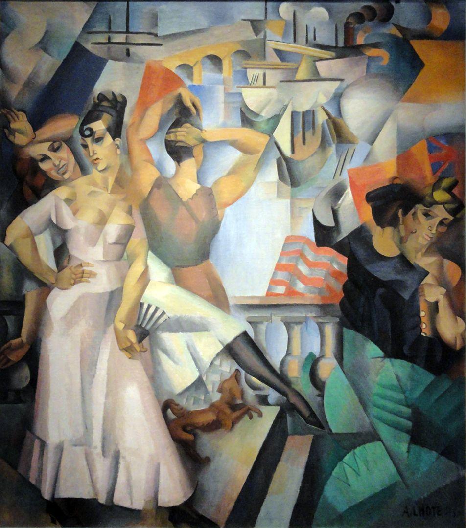 l 39 escale 1913 andr lhote mus e d 39 art moderne de la ville de paris peintre cubiste andr. Black Bedroom Furniture Sets. Home Design Ideas