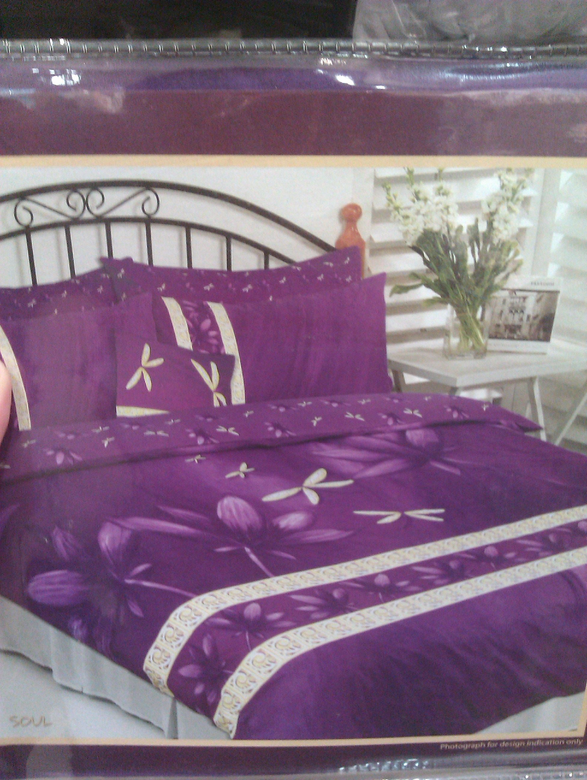 I love this purple dragonfly quilt cover set from Baines. I ... : dragonfly quilt cover - Adamdwight.com