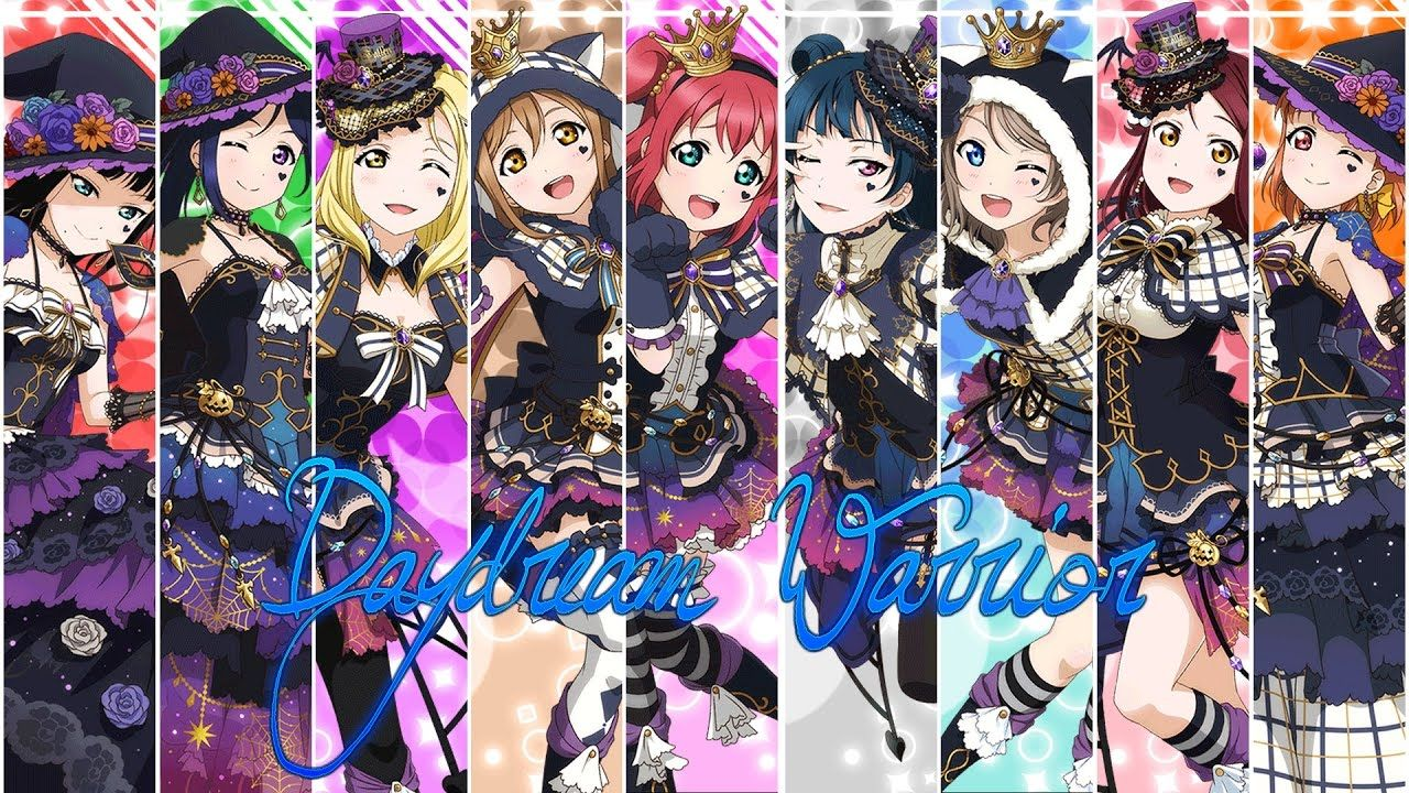 Lovelive Daydream Warrior Full Color Coded With Images