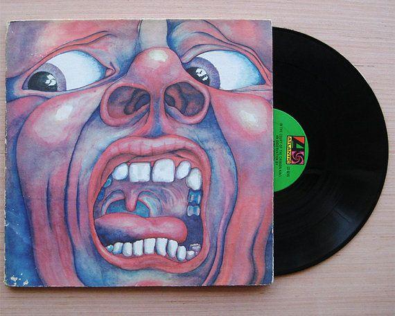 King Crimson In The Court Of The Crimson King Vinyl By Mfagoods King Crimson Vinyl 21st Century Schizoid Man