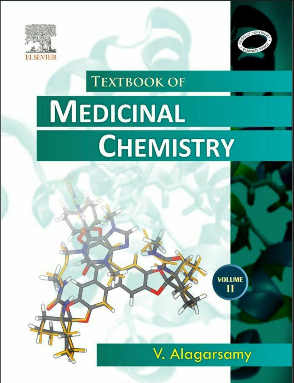 V. Alagarsamy TEXTBOOK OF MEDICINAL CHEMISTRY Volume II PDF download