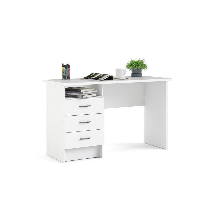 Zamudio Desk In 2021 Desk Open Shelving Furniture