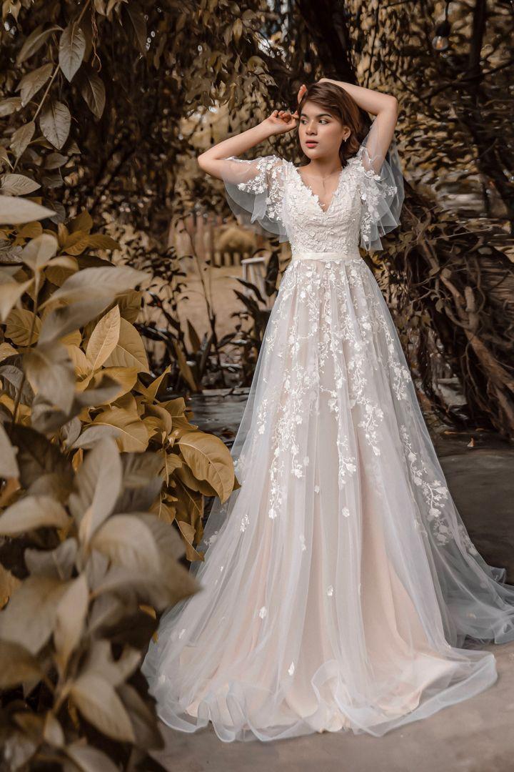 44++ Pink camo long sleeve wedding dresses ideas