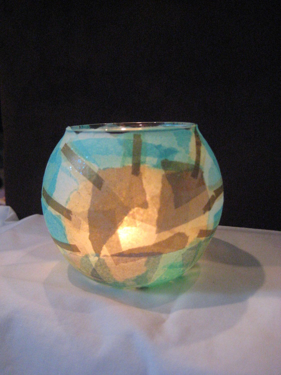 Good morning sunshine candle holder via etsy for the home