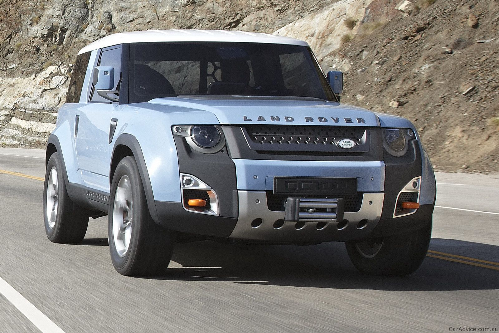 Land Rover DC100 Concept  Adrenaline Capsules  Pinterest  Land