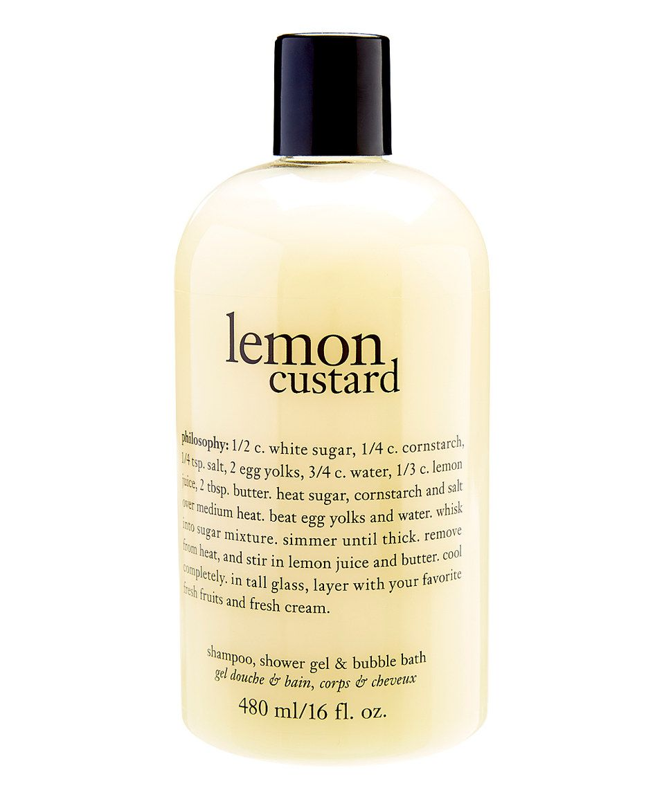 Home bath amp body personal care hair removal shave gel - Philosophy Lemon Custard 16 Oz 3 In 1 Shampoo Shower Gel Bubble Bath Lemon Custard Bubble Baths And Custard