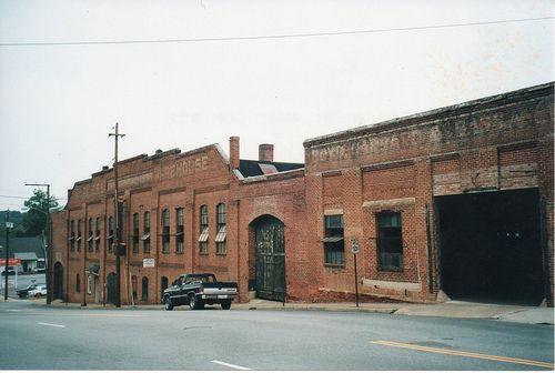 South Boston Va Tobacco Warehouse Boyd Garrard And Bass South Boston South Boston Virginia Halifax