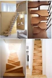 Resultado de imagem para escaleras en espacios reducidos arquitetura escadas pinterest - Escaleras espacios reducidos ...