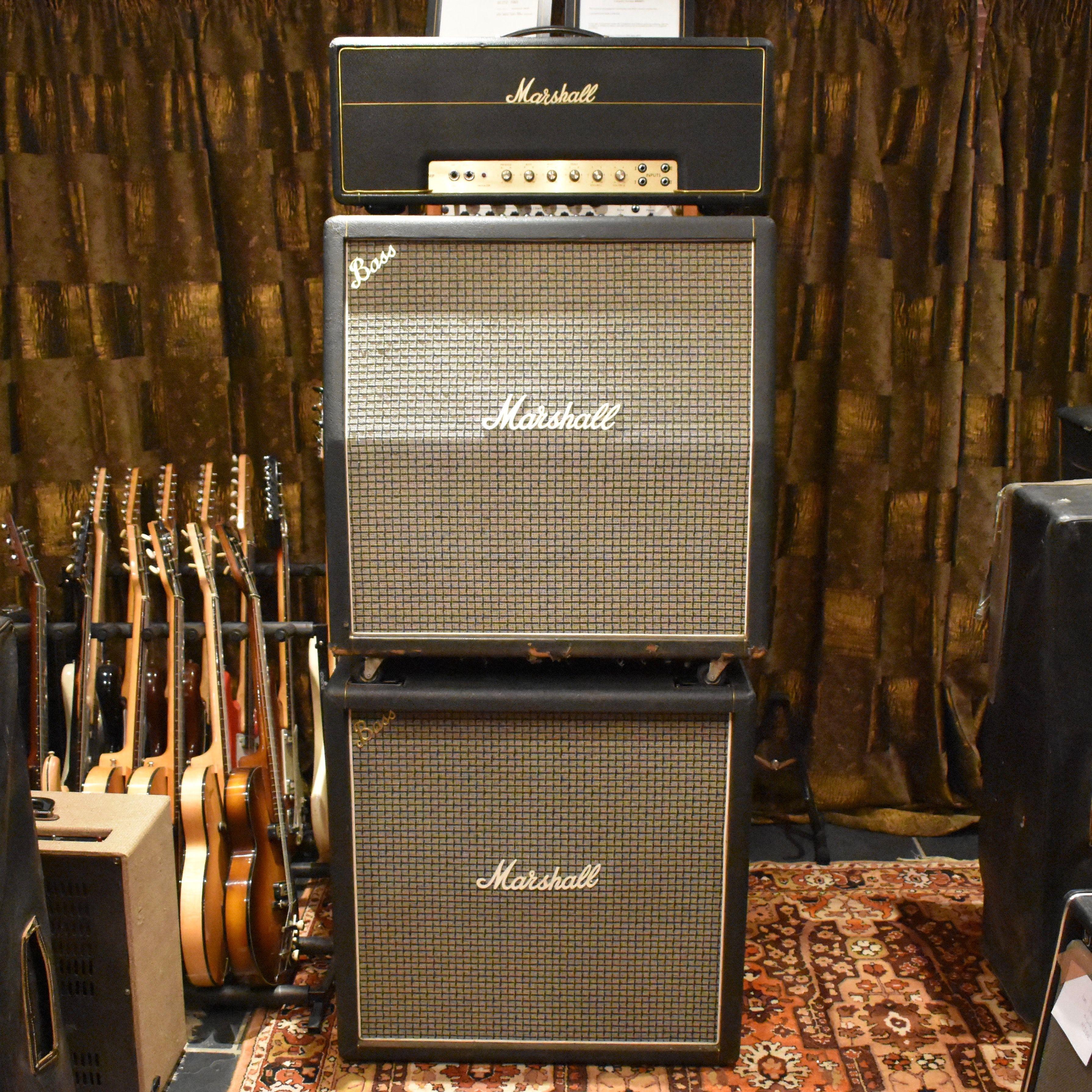 For Sale  Vintage 1971 Marshall JMP Super Bass Full Stack Valve