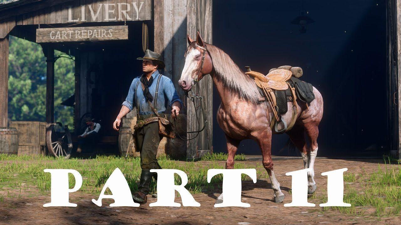 Red Dead Redemption 2 ReviewGameplayWalkthroughPart 11