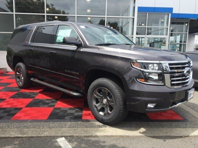 2016 Z71 All Black Chevrolet Suburban Tie
