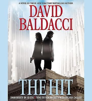THE HIT by David Baldacci  Audiobook  ABRIDGED 6 CDS/7 Hours FREE SHIPPING