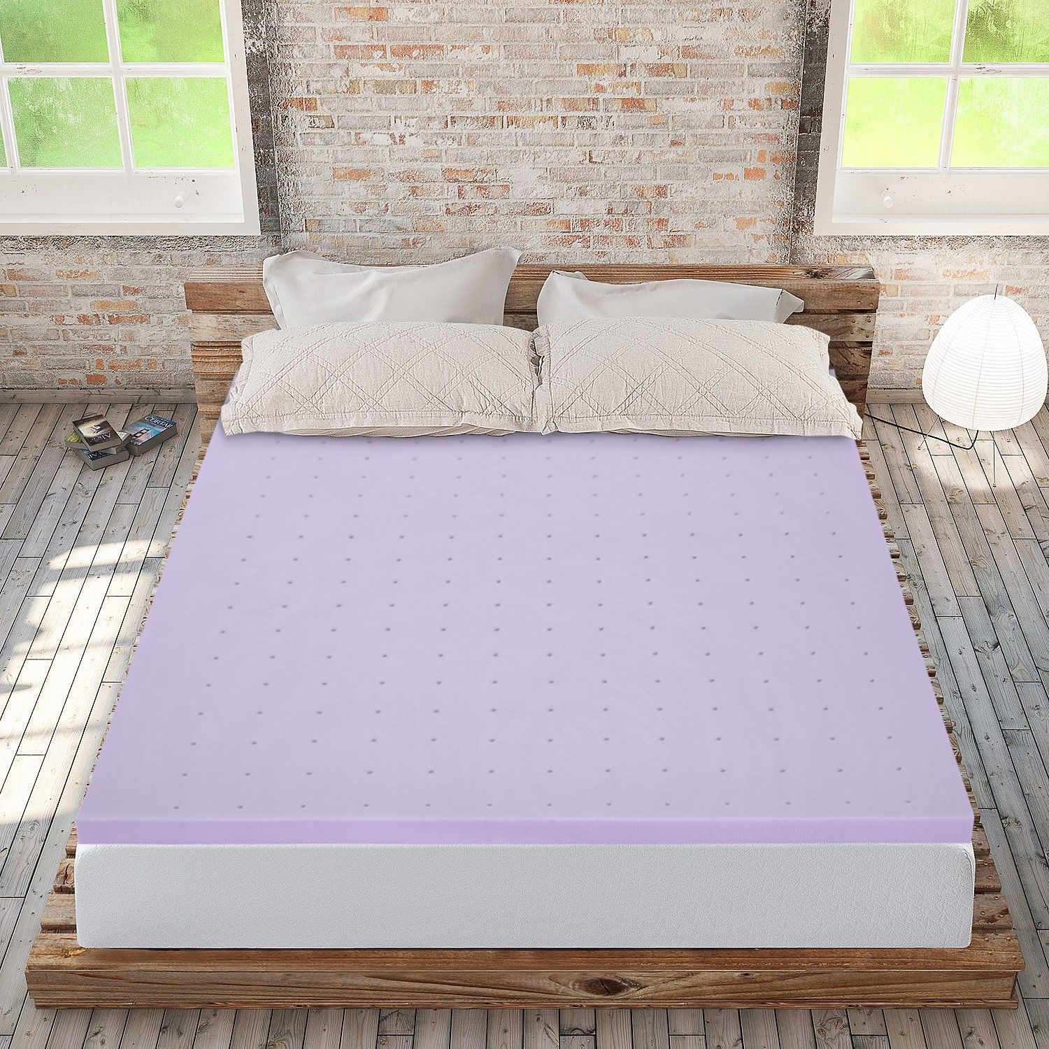 best price mattress 2 lavender memory foam mattress topper short