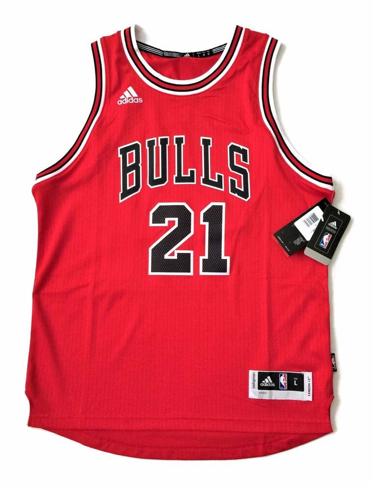 Adidas Chicago Bulls Jersey Size L Youth Jimmy Butler Red