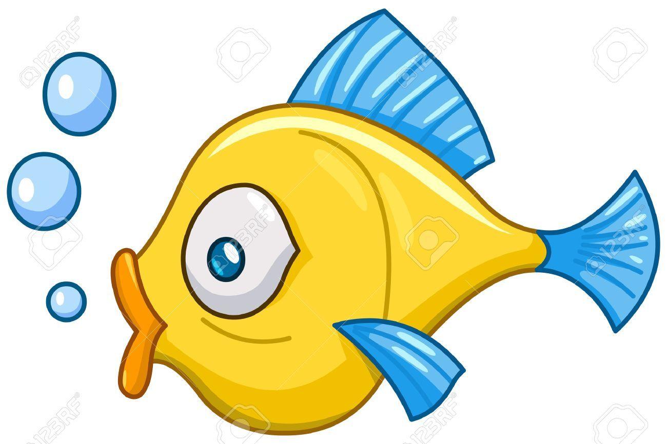 Cartoon Fish With Bubbles Affiliate Cartoon Fish Bubbles Kartun Ikan Gambar