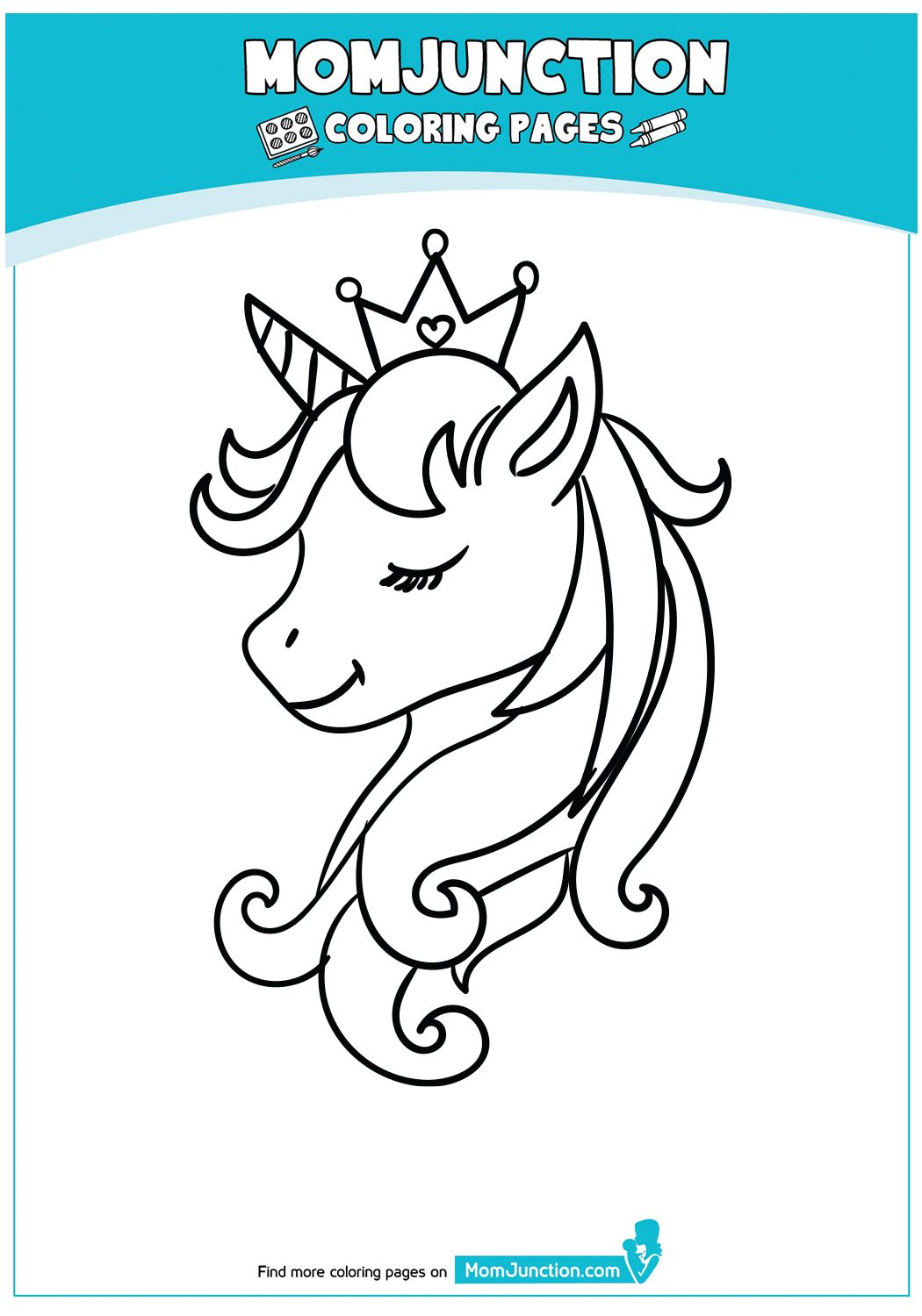Momjunction Unicorn Coloring Page Designs Trend