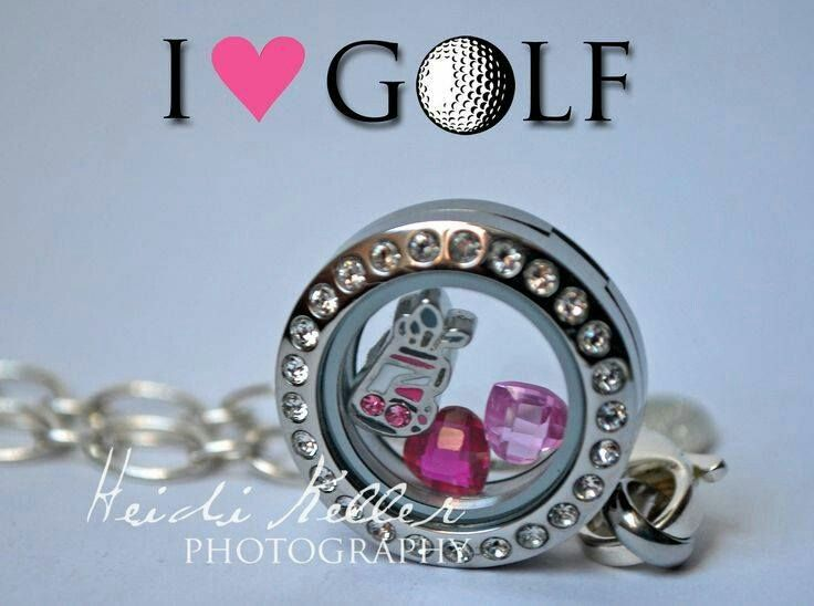 Do you golf? Check out our new....super adorable....golf charms!! www.createstories.origamiowl.com