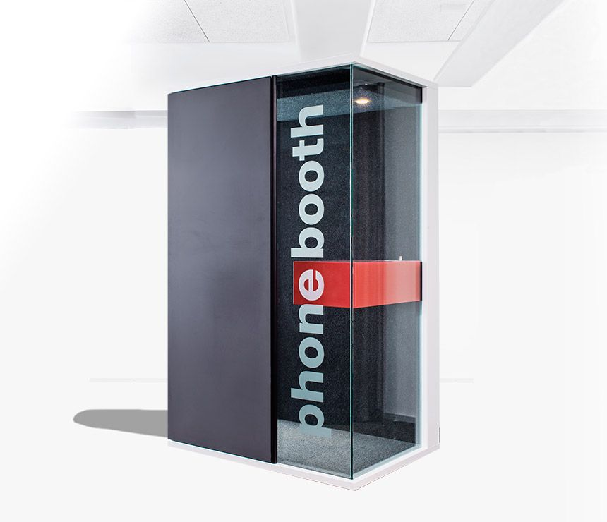 Private Sound Proofed Phone Booth For Public Spaces Like Reception Areas  Andu2026