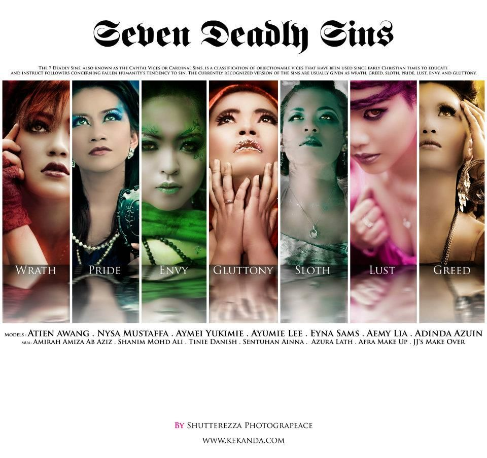 The Same Basic Idea As The Other 7 Deadly Sins Inspired Shots 7 Deadly Sins Seven Deadly Sins Nysa