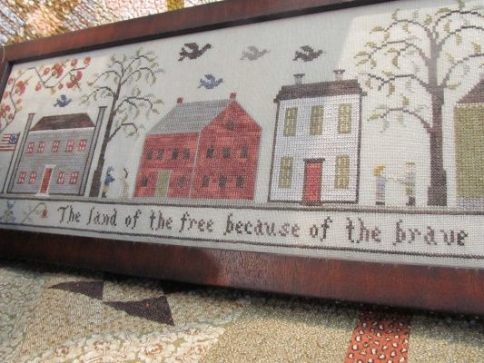 Land of the Free available at Country Sampler--so pretty!