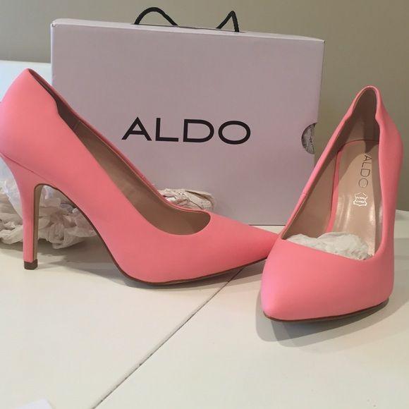 YBUVIA matte pink heels size 8   Shoes