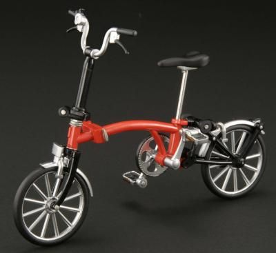 Hobby Japan Ex Ride Brompton Bd 1 Figma Bike Cycle Red With