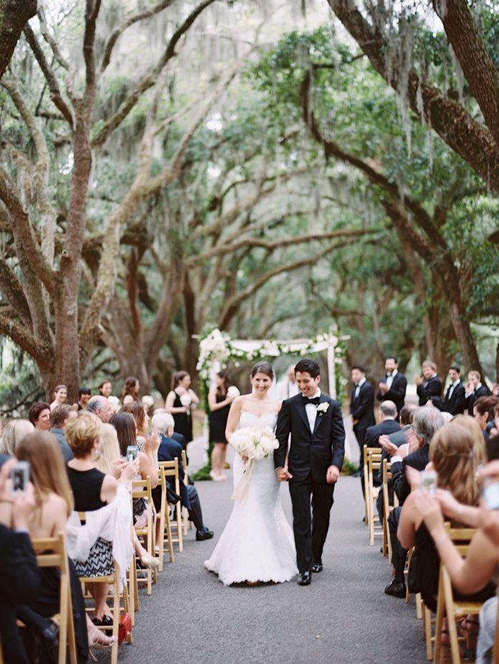 Stunning place to share your nuptials! #nuptials #wedding NYC+meet+South+Carolina+Wedding+at+Belfair+Plantation
