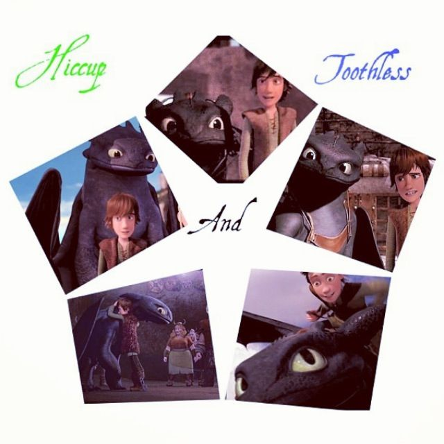 Hiccup and Toothless are AWESOME!!! Toothcup BROTP.