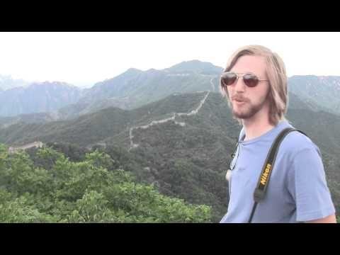 World's Largest Buffalo @ The Great Wall of China