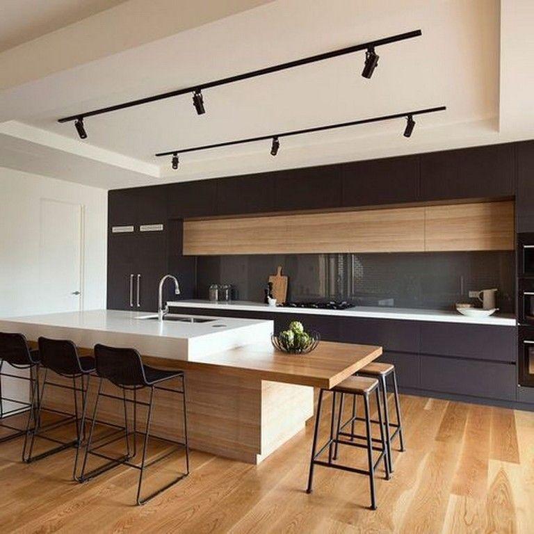 32+ Stunning Modern Minimalist Kitchen Remodel Ideas