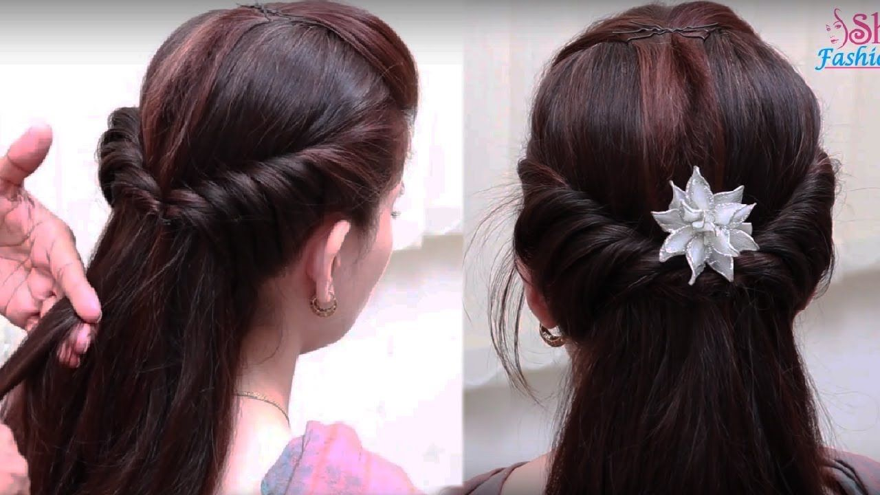 Easy hair style for long hair ladies hair style videos