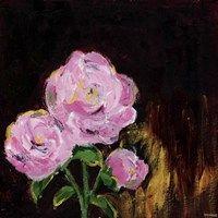 Framed Romantic Floral II