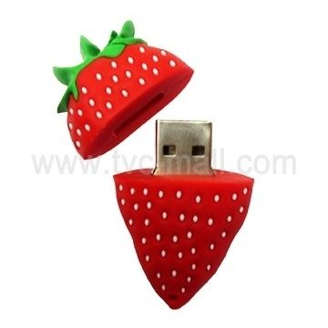 Strawberry | 27 Reasons To Use Flash Drives From Pinterest