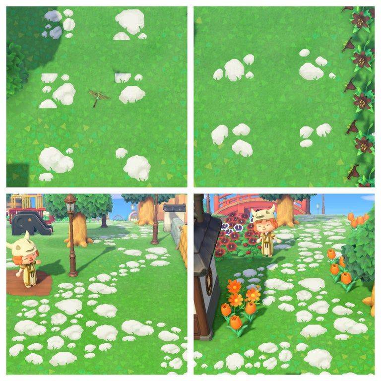 10-piece stone path, matches zen fence! My creator ID is