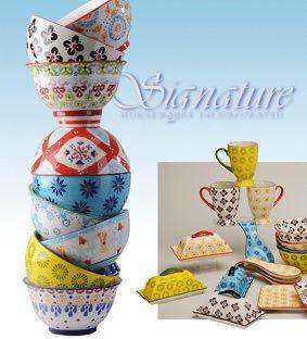 Signature Housewares Inc Signature Housewares Designs Imports And Distributes Ceramic Tableware And Kitchen Housewares Design Ceramic Tableware Housewares
