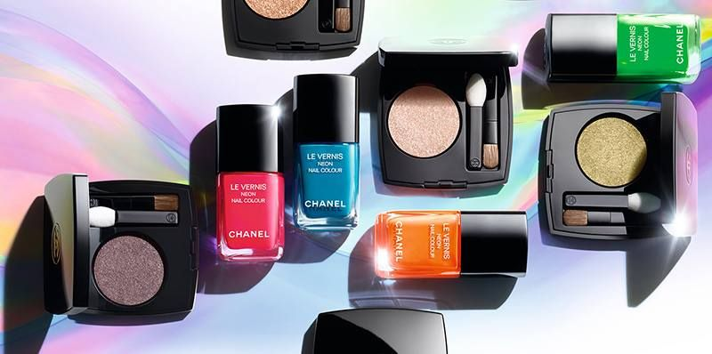 Chanel Neon Wave Summer 2017 Collection U2013 Beauty Trends And Latest Makeup  Collections   Chic Profile