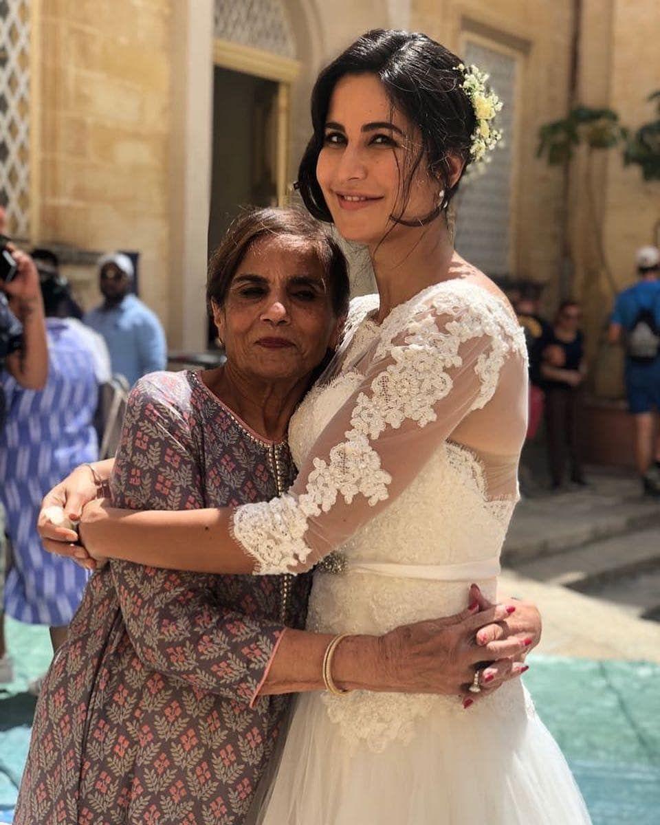 Bonding Time For Katrina Kaif With Salman Khan S Mom Salma Khan In Malta Katrina Kaif Dresses Bollywood Celebrities Bridal Wear