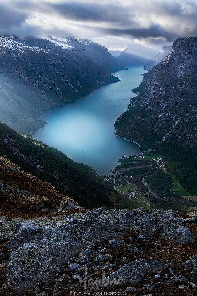 Eikesdalen in Romsdalen, Norway.