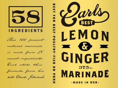Earls Lemon and Ginger by David Cran