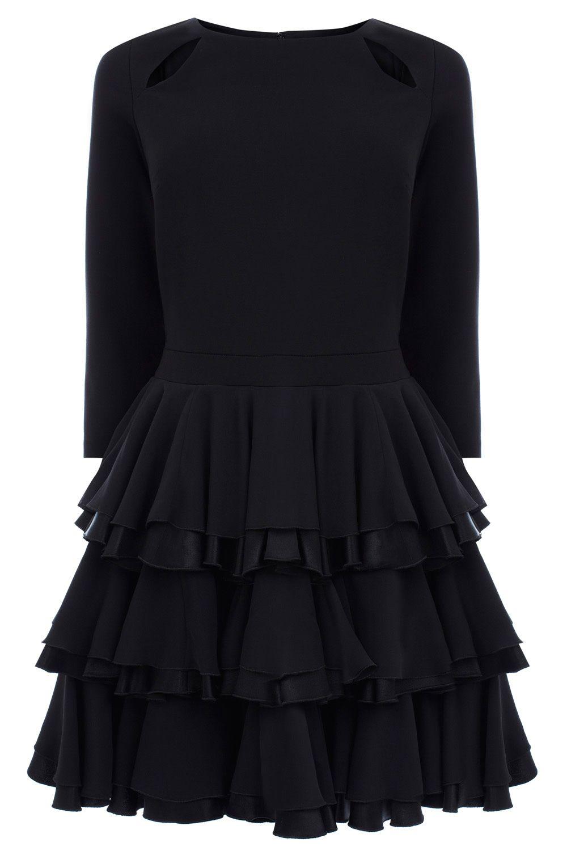 Coast // Black Rae Dress.